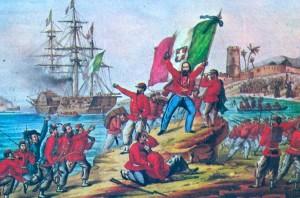Marsala_1860-Sbarco_dei_Mille