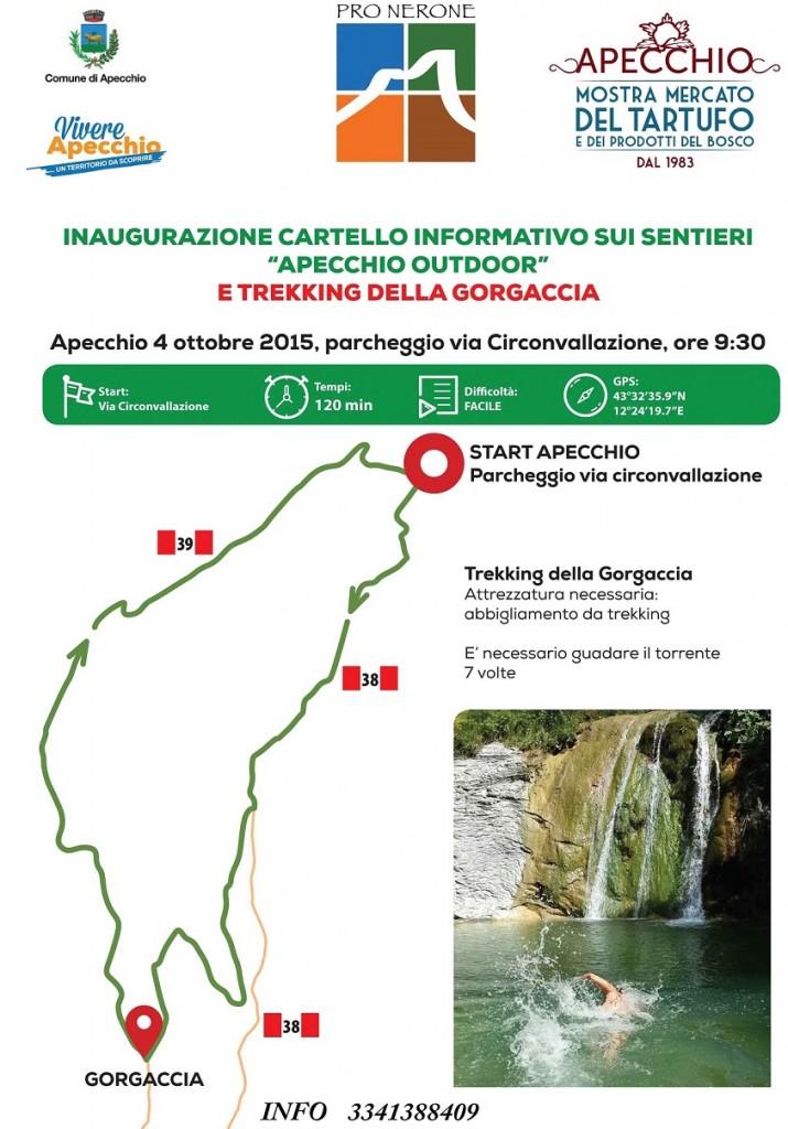 trekking GorgacciaIII