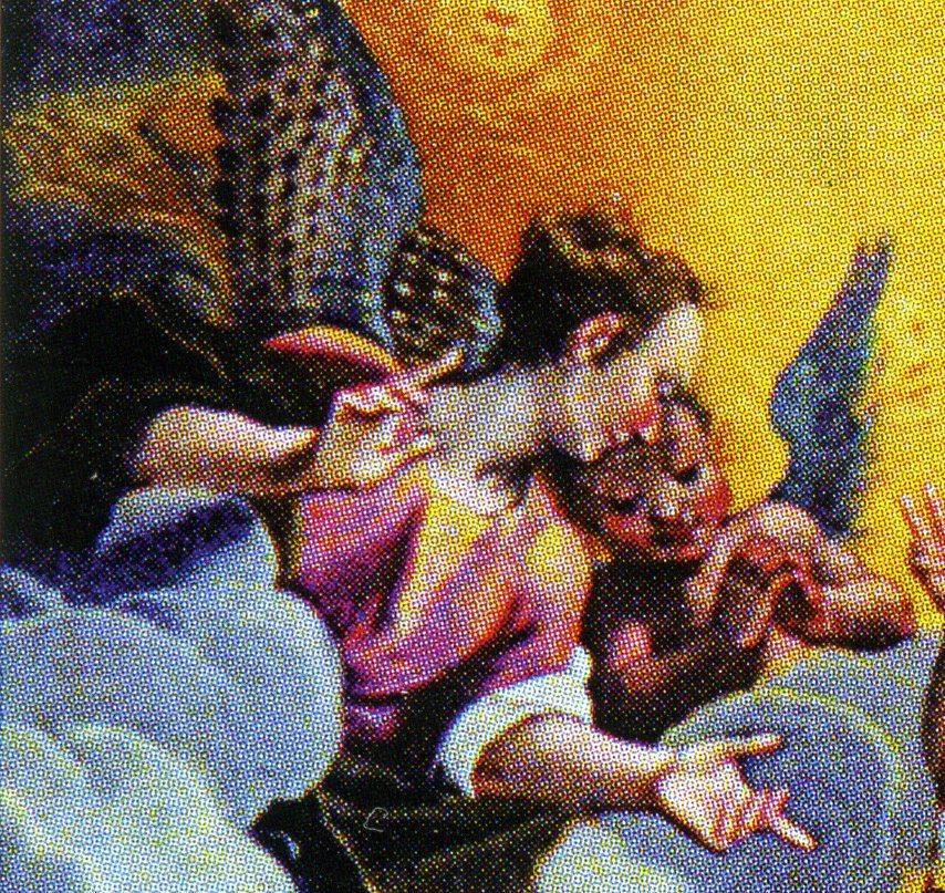 Cecilia Amici e il figlio Ottaviano III Ubaldini